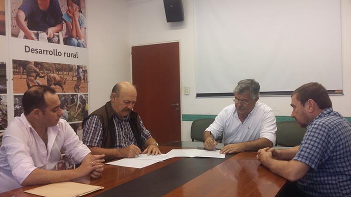 Convenio entre la fundaci n inclusi n productiva y el for Ministerio de produccion
